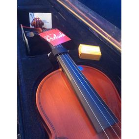 Violin Electrico Y Acustico Cervini 4/4