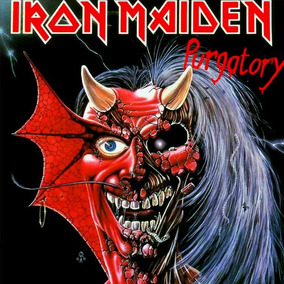 Iron Maiden Purgatory Vinilo Importado Single 7 Stock