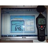Decibelímetro Con Data Logger Tipo 2 + Cable Usb + Soft