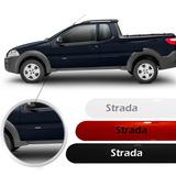 Friso Lateral Fiat Strada 2011 12 13 14 15 2016 Todas Cores