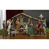 Pesebre Reinas De La Navidad Tk-nat-10-dlx-16 De 16 Piezas
