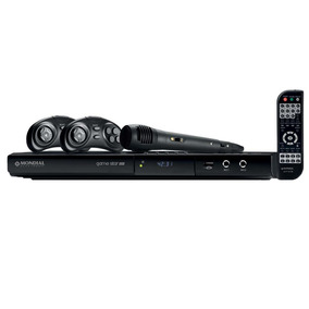 Dvd Player Mondial Game Star Usb D-03 - Bivolt