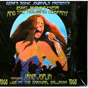 Cd Janis Joplin 1968 Live At The Carousel Ballroom Novo***