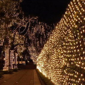 Led Net Malla 8secuencias Navidad
