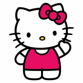 Adesivo Película Unha Infantil Hello Kitty Super Kit 120