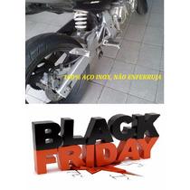 Ponteira Hornet Inox 2005 A 2007 - Ronco Bravo Igual Moto Gp