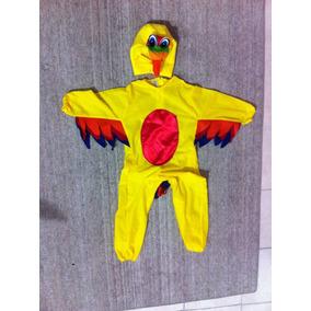 Disfraz De Pajarito Amarillo Para Primavera.