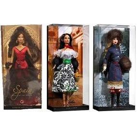 Barbie Del Mundo Serie 2 (rusia, Italia Y España)