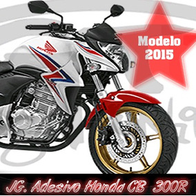 Kit Adesivo Cb 300r 2015 Material Importado Não Impresso !