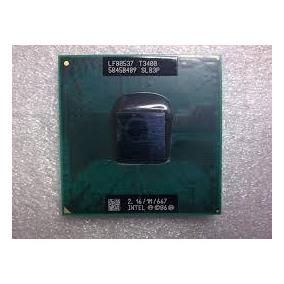 Processador Intel Mobile T3400 Dual Core 2.16/1m/667 Slb3p