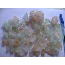 Pedras Preciosas Bruta Morganita Lote Belíssimo 558 Gramas
