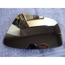Lente Com Base Retrovisor Fox 011/015 Ld Original Metagal