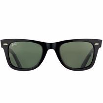 Óculos De Sol Ray Ban Wayfarer Rb2140 901/58 54 3p