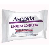 Oferta Asepxia Toallitas De Limpieza Facial Paquete Con 25pz