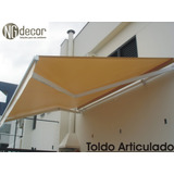 Toldo Retrátil, Fixo E Cortina Ng Decor