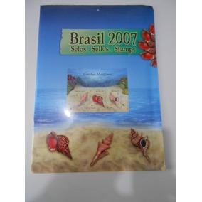 Coleção Anual Album Selos Brasil 2007 Lacrado