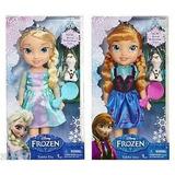 Muñecas Rapunzel, Elsa Y Ana De Frozen Cenicienta Y Blancan