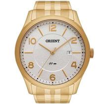 Relógio Orient Mgss1093 B2kx Aço Numeros Dourado