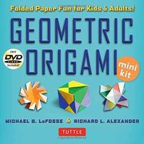 Libro Geometric Origami Mini Kit: Folded Paper Fun For Kids