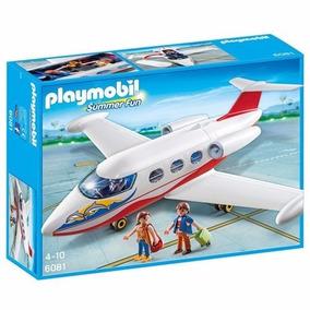 Playmobil Summer Fun Avion Jet 6081 Figura Educando