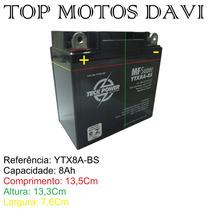 Bateria Teckpower Ytx9a-bs Suzuki Yes 125 Intruder