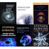 Pack De 6 Libros Digitales De Stephen Hawking