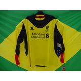 Camisa De Goleiro Liverpool Inglaterra Warrior Importada M