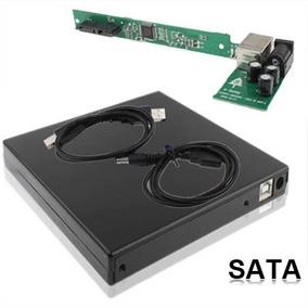 Carcasa Para Unidad De Cd Y Dvd Externa Sata Usb 2.0 12.7mm