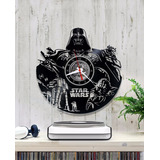 Reloj De Vinilo Star Wars Diseño Original