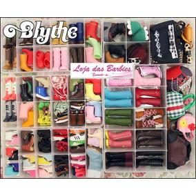 Caixa Organizadora Para Sapatinhos Da Blythe Pullip Ou Licca