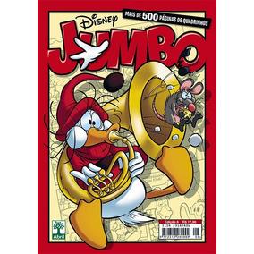 Disney Jumbo 8 Oito Editora Abril 500 Páginas Capa Peninha