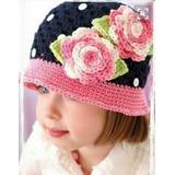 Hermosos Gorros Tejidos A Crochet Para Bebes Niñas Adolescen