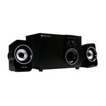 Acteck Sistema Multimedia Sonido 2.1 Pc Sd 3.5 Axf-390