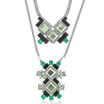 Conjunto Colar Black Diamond