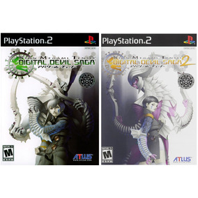 Shin Megami Tensei Digital Devil Saga 1 Y 2 (nuevos) - Ps2