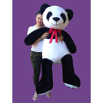 Oso De Peluche Gigante Panda 2 Mts Corazon Personalizado