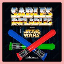Sable Inflable Star Wars Para Fiesta De Cumpleaños Temática