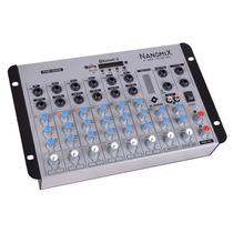 Mesa Som Usb Bluetooth Rádio Fm Rec Ll Áudio Nanomix 902 Bt
