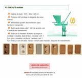 Prensa Vimaq V2 Gold Profissional Solo-cimento