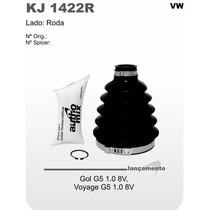 Kit Coifa Homocinética Gol G5 1.0 8v / Voyage G5 1.0 Kj1422r