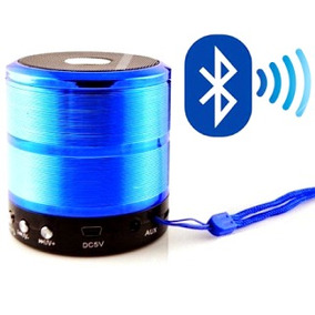 Mini Caixinha De Som Portátil Bluetooth Mp3 Fm M/sd Usb