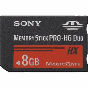 Memoria Memory Stick Pro Duo 8gb Sony Hg-duo 50 Mb/s