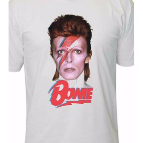 Camiseta David Bowie Banda Rock Metal