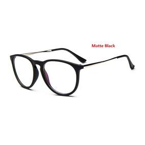 Armação Óculos Grau Feminino Erika Rb Gatinho Redonda Oval