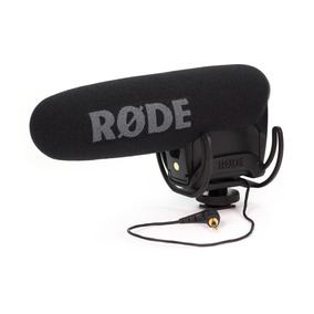 Microfone Rode Videomic Pro Shotgun Dslr Canon Nikon