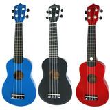 Ukelele Soprano Maxine M21 En Colores Cuerdas De Nylon