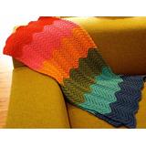 Manta Zigzag 6 Colores |lana| Baby Boutique - Bebe Niños