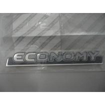 Emblema Economy Da Tampa Traseira. Fiat Uno Mille Economy