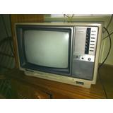 Tv Panasonic Color Portátil 14 Pol A Cores - Vintage