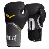 Luva Everlast Boxe/ Muay Thai Pro Style Elite - Preta 12oz